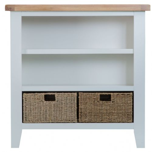 Trentham Small Wide Bookcase
